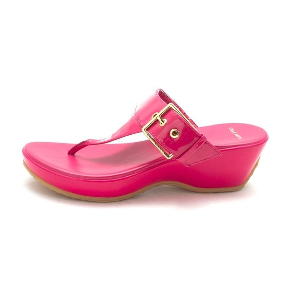 Cole Haan Womens 14A4120 Open Toe Casual Platform Sandals - 6