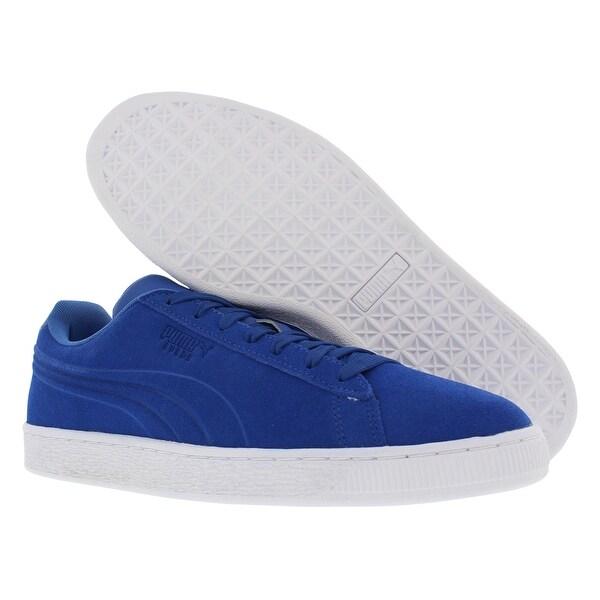 Puma Swede Classic Em Bossed Men's Shoes Size - 10 d(m) us