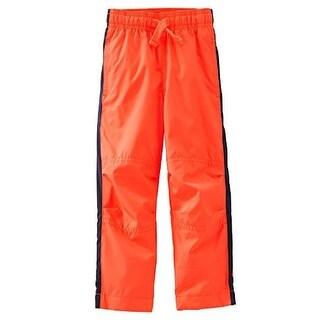 OshKosh B'gosh Baby Boys' Mesh-Lined MVP Pant - Orange - 9 Months