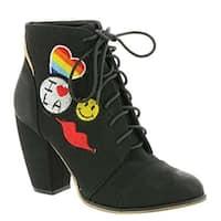 Michael Antonio Womens Meow Closed Toe Ankle Fashion Boots