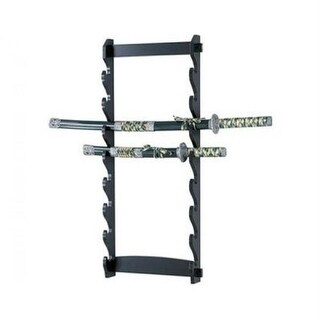 Master Cutlery WS-8W 8-Tier Wall Sword Stand