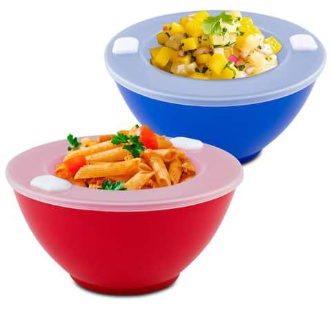 Hot 'N Cold Food Storage Bowls - Set of 2