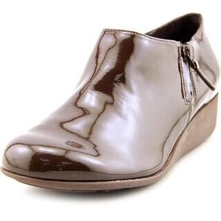 Cole Haan Callie Rain Open Toe Synthetic Wedge Heel