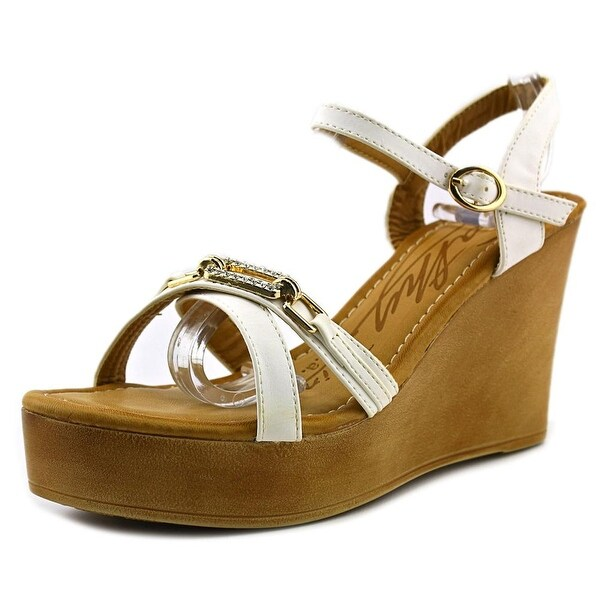 Cathy Din Alison-1 Women  Open Toe Synthetic  Wedge Sandal
