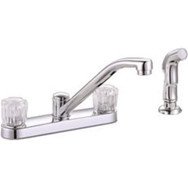 Shop Bayview Two Handle Kitchen Faucet With Side Spray Chrome Free