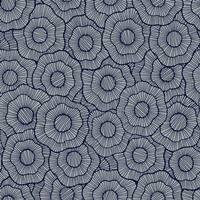 York Wallcoverings ST6000 Paper Muse Wild Poppies Wallpaper - medium grey/navy blue