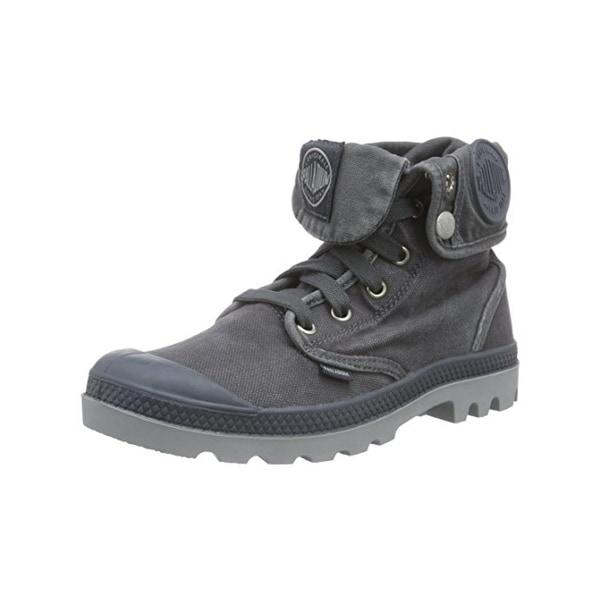 4e5b35b65a10 Shop Palladium Womens Baggy Combat Boots Canvas Fold-Over - Free ...
