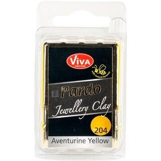 PARDO Jewelry Clay 56g-Yellow Aventurine - Yellow