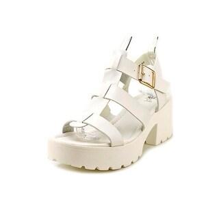 GC Shoes Street Chic Women  Open-Toe Synthetic  Slingback Sandal