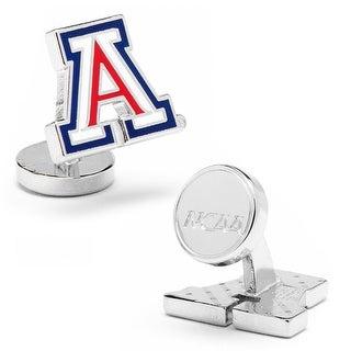 Palladium University Of Arizona Wildcats A Logo Cufflinks - Multicolored