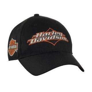 Harley-Davidson Men's Joy Ride Bar & Shield Baseball Cap - Black BC05230