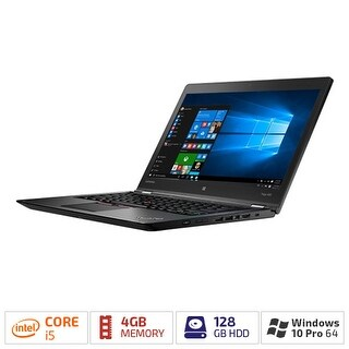 "Lenovo ThinkPad Yoga 460 20EM001QUS 14"" (In-plane Switching (IPS) Technology) 2 in 1 Ultrabook - Intel Core i5 (6th Gen)"