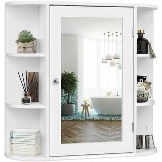Multipurpose Wall Surface Bathroom Storage Cabinet Mirror