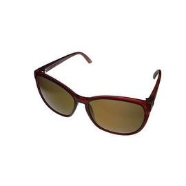 Electric Sunglass Rosette Wayfarer Plasma Bronze Plastic Brown Lens ES087419570