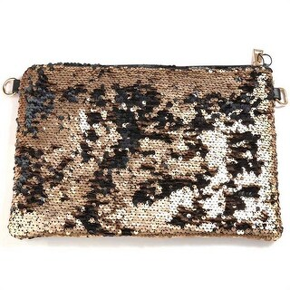Mad Style Sequined Clutch Bag