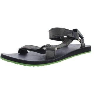 Teva Mens Original Universal Canvas Camoflage Sport Sandals