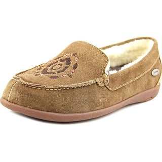 Acorn Prima Moc Women Round Toe Suede Loafer