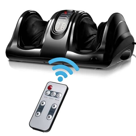 Costway Shiatsu Foot Massager Kneading and Rolling Leg Calf Ankle