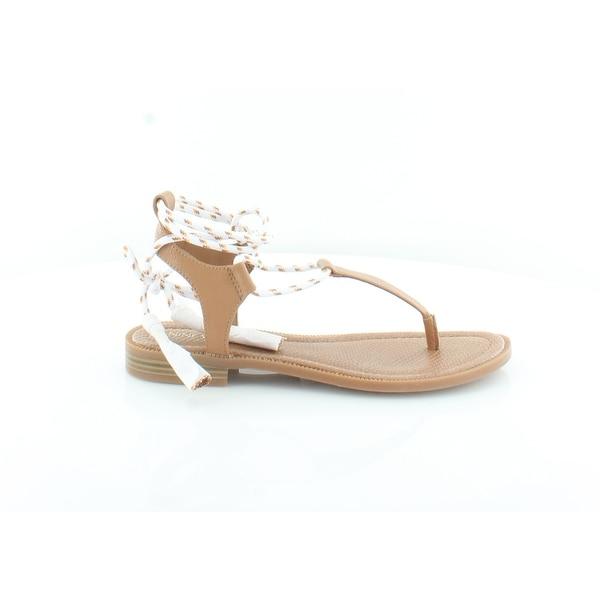 Nine West Gannon Women's Sandals Dk Natural