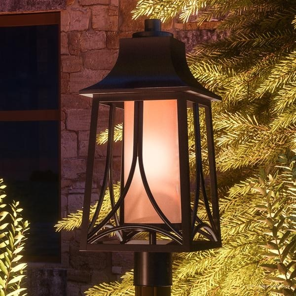 Luxury Asian Outdoor Post Light 21 H X 8 5 W With Craftsman