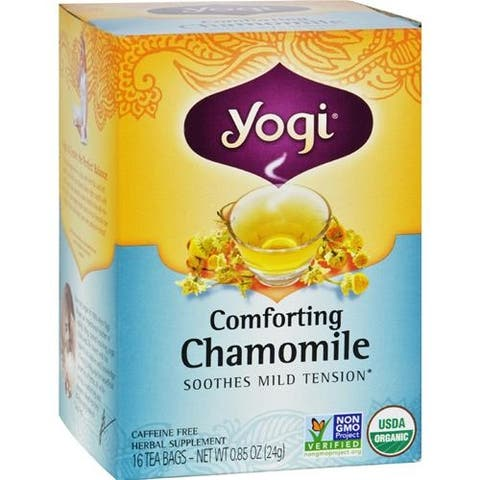 Yogi - Organic Comforting Chamomile Tea ( 6 - 16 BAG)