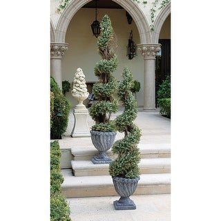 Design Toscano Spiral Topiary Tree Collection: Small