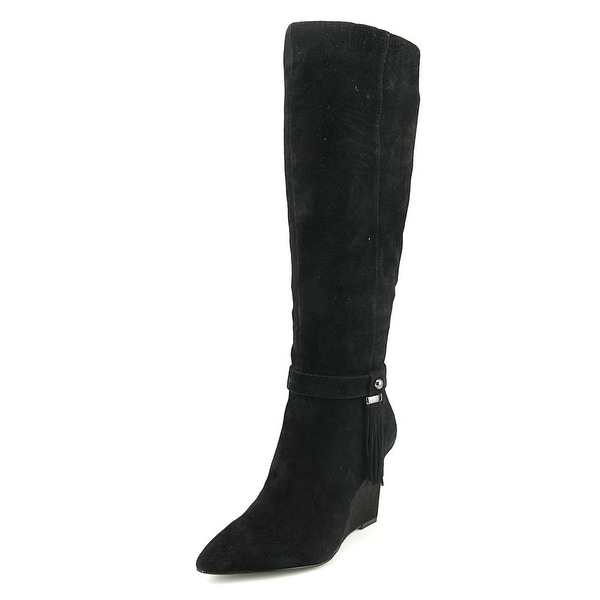 Nine West Trybecca Women Black Boots