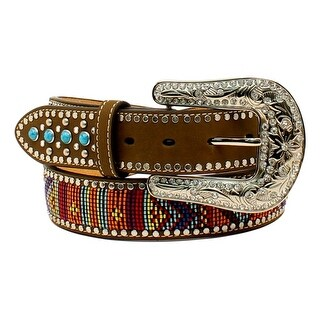 Blazin Roxx Western Belt Womens Beaded Stones Multi-Color N3522444|https://ak1.ostkcdn.com/images/products/is/images/direct/6f2f62ae5a17f8124c36b65e882730cbae6984d0/Blazin-Roxx-Western-Belt-Womens-Beaded-Stones-Multi-Color-N3522444.jpg?_ostk_perf_=percv&impolicy=medium