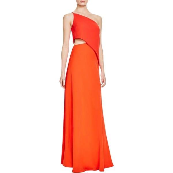 JILL Jill Stuart Womens Evening Dress Chiffon One Shoulder