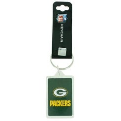 Green Bay Packers Premium Team Logo Acrylic Keychain