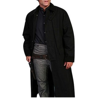 Scully Western Jacket Mens Old West Canvas Duster Button Front