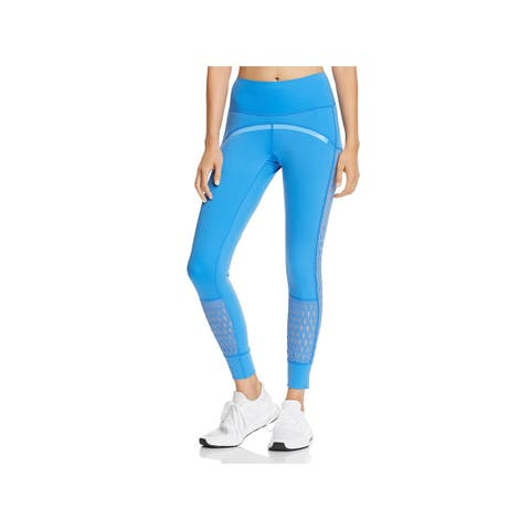 Adidas Womens Athletic Leggings Fitness Yoga