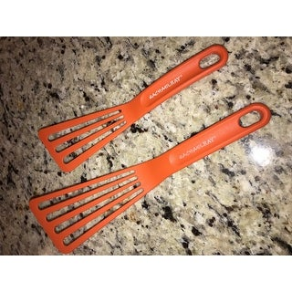 Rachael Ray Tools and Gadgets 2-piece Orange Nylon Spatula Set