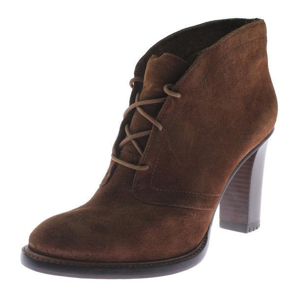 Vince Womens Lehanna Shooties Suede Lace Up - 9.5 medium (b,m)