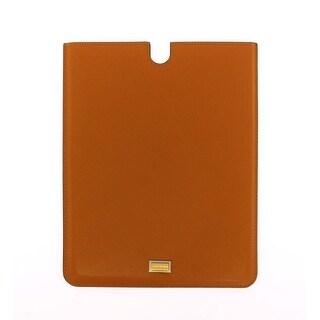 Dolce & Gabbana Dolce & Gabbana Orange Leather iPAD Tablet eBook Cover