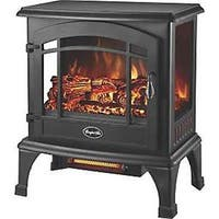 World Marketing 3981891 EQS5140 Stove Electric 3 Sided Black Sanibel