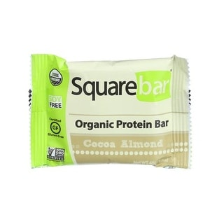 Squarebar - Chocolate Covered Almond Bar ( 12 - 1.7 OZ)