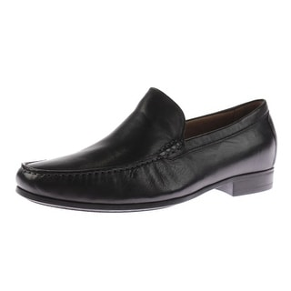 Johnston & Murphy Mens Cresswell Venetial Leather Slip On Loafers - 8.5 wide (e)