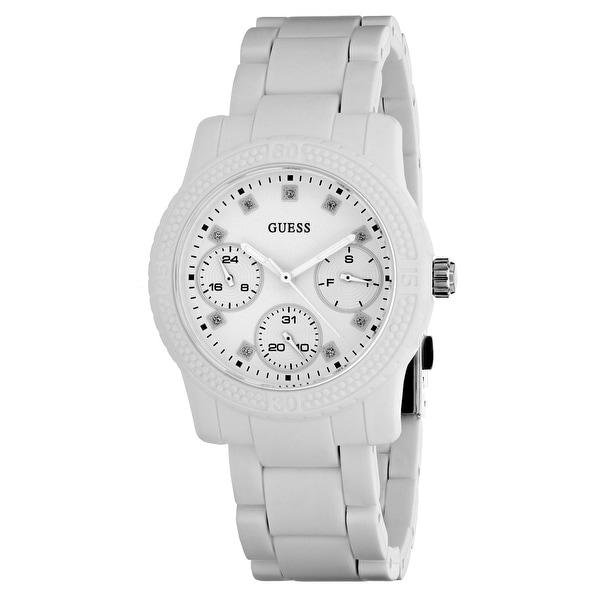 e3aa0c4fefa7 Shop Guess Women s Funfetti W0944L1 White Dial watch - Free Shipping Today  - Overstock - 24225495