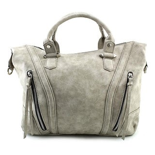 Violet Ray TWV6526 Women Synthetic Gray Satchel