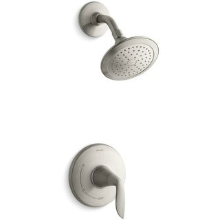Kohler K-TS5320-4 Refinia Single Handle Pressure Balanced Shower Valve Trim Only with Single Function Shower Head