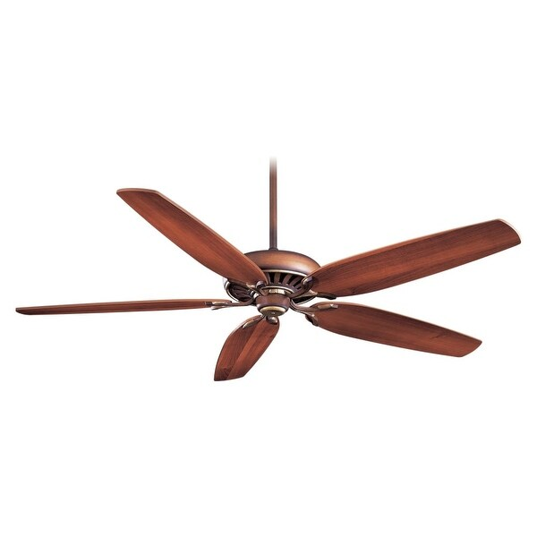 "MinkaAire Great Room Traditional 5 blade 72"" Great Room Traditional Ceiling Fan - Wall Control and Blades Included"