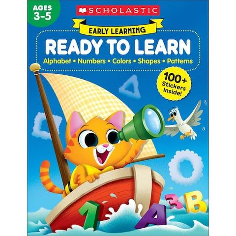 Scholastic early learning ready to learn 832316