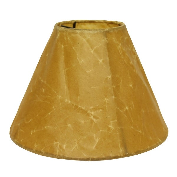 Cloth & Wire Slant Empire Softback Lampshade with Washer Fitter, Brown. Opens flyout.