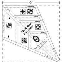 Multi-Size Kite Ruler-