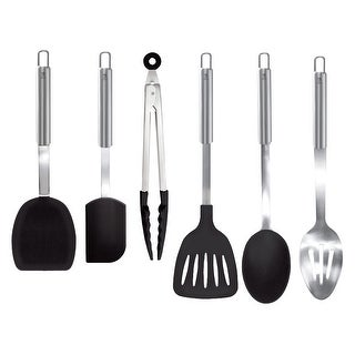 J.A. Henckels International 6-pc Kitchen Tool Set - Black/Stainless Steel