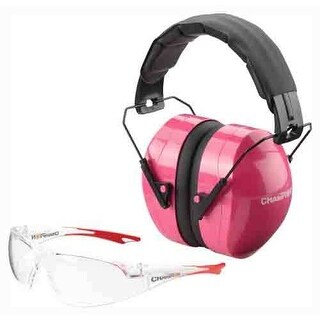 Champion 40624 champion eyes and ears combo pink