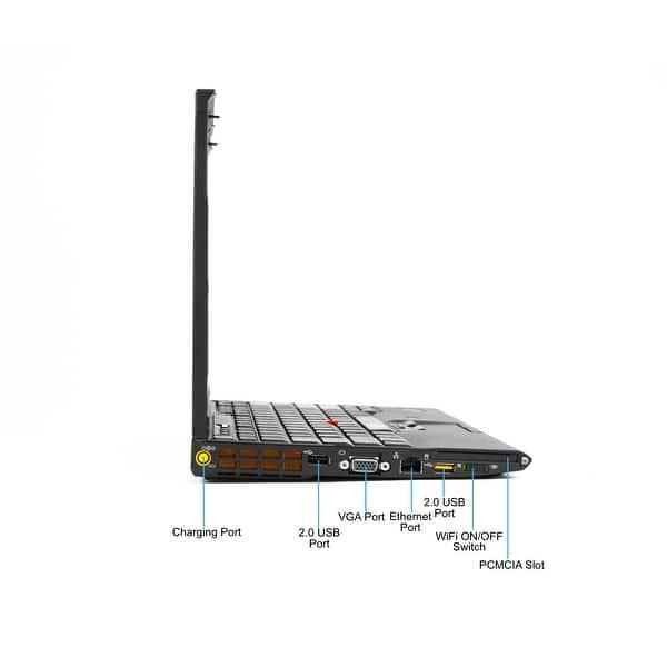 Shop Lenovo ThinkPad X201 Core i3-350M 2 27GHz 4GB RAM 320GB