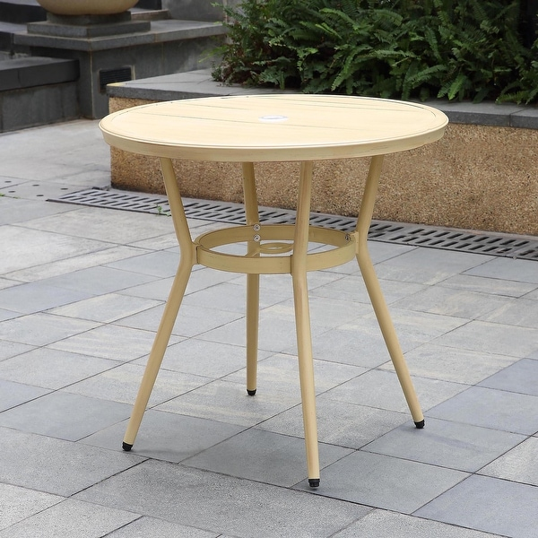 Furniture of America Ariel Natural Tone 32-inch Bistro Table. Opens flyout.