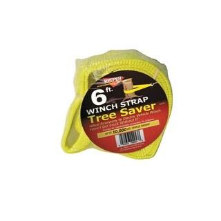 "Keeper 02953 Winch Strap Tree Saver, 6' x 3"""